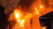 Pożar w centrum Zakopanego
