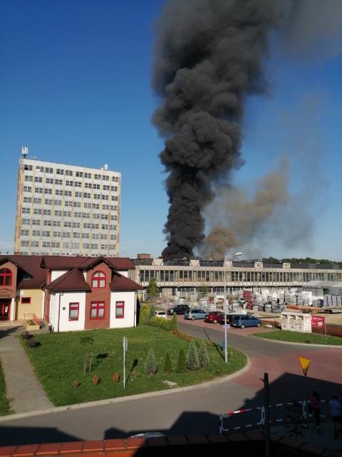 Pożar w Chełmku /Gorąca Linia RMF FM