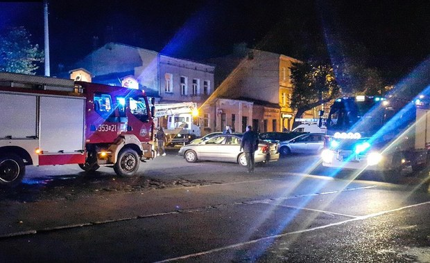 Pożar w Częstochowie, jedna osoba nie żyje