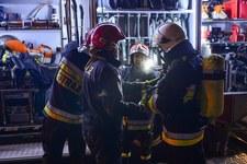 Pożar w Domu Pomocy Społecznej w Miszewie Murowanym