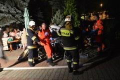 Pożar w domu pomocy społecznej w Wadowicach