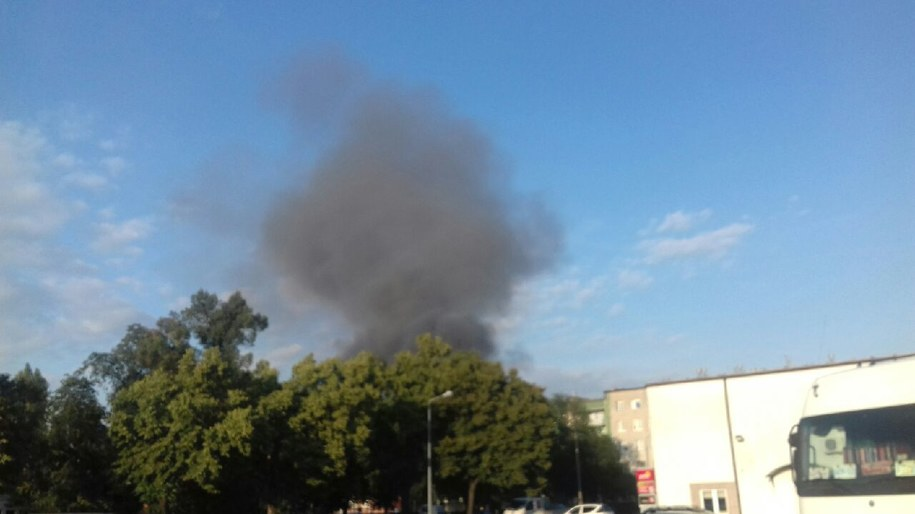 Pożar w Głogowie /Gorąca Linia RMF FM