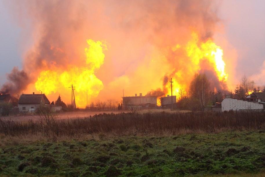 Pożar w Jankowie Przygodzkim wybuchł w listopadzie 2013 roku /PAP/Tomasz Wojtasik /PAP