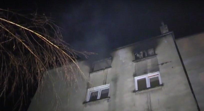 Pożar w Jaworze /TV Regionalna pl /YouTube
