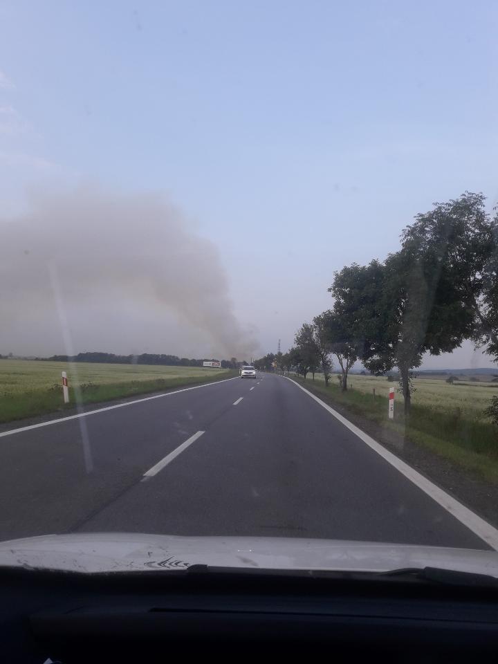 Pożar w Jordanowie Śląskim /Gorąca Linia RMF FM