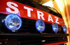 Pożar w Katowicach. Trzy osoby w szpitalu