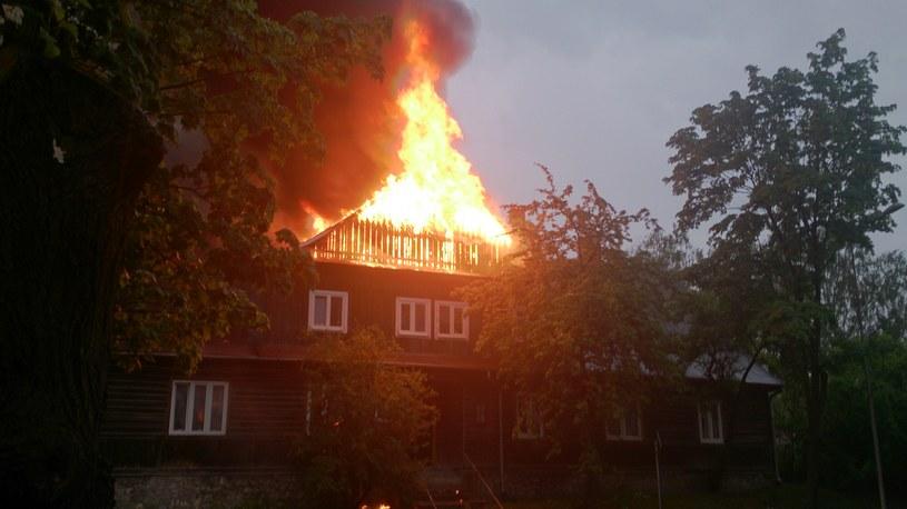 Pożar w Kielcach /Marta, Gorąca Linia /RMF FM