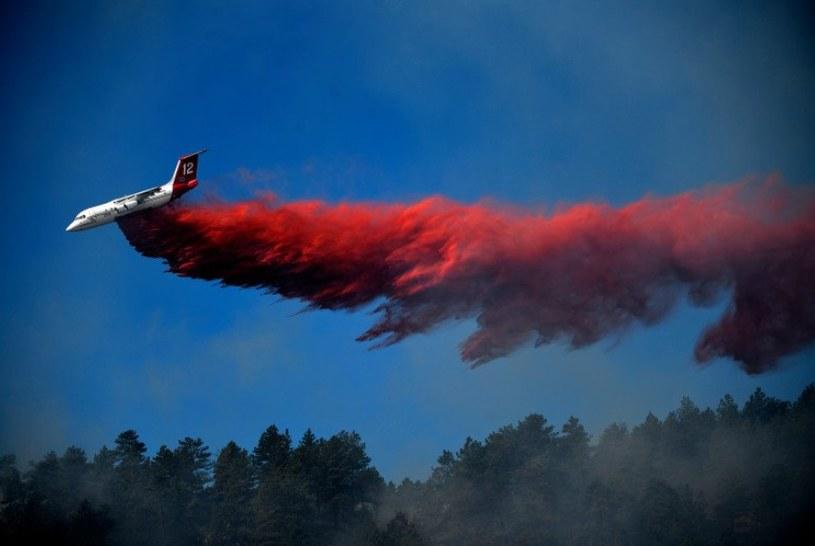 Pożar w Kolorado /The Denver Post /Twitter