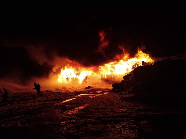 Pożar w Koniecpolu /