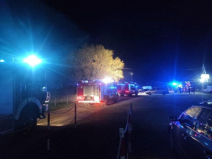 Pożar w Kuniowie /facebook.com