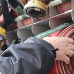 Pożar w łódzkiej Manufakturze. Ewakuowano kilkaset osób