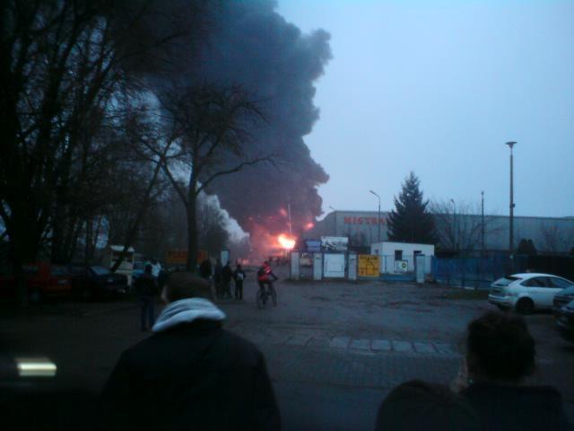 Pożar w Łódzkiem /Gorąca Linia /RMF FM