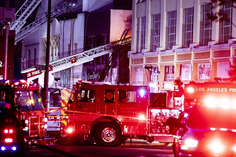 Pożar w Los Angeles /ETIENNE LAURENT /PAP/EPA