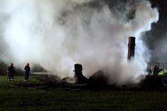 Pożar w Majdanku - milion złotych strat