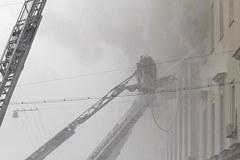 Pożar w ministerstwie obrony Rosji
