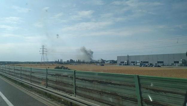 Pożar w Opolu /Gorąca Linia /Gorąca Linia RMF FM