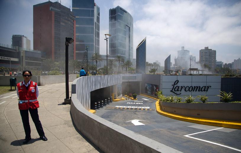 Pożar w pobliżu hotelu, gdzie zatrzymają się przywódcy przybyli na APEC /RENE VITA  /AFP
