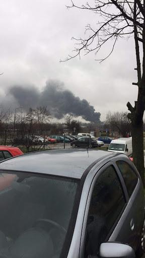 Pożar w Radomiu /  /Gorąca Linia RMF FM