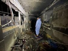 Pożar w szpitalu zakaźnym w Iraku. 58 pacjentów nie żyje