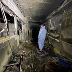 Pożar w szpitalu zakaźnym w Iraku. 82 pacjentów nie żyje