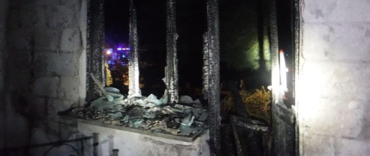 Pożar w Tarnawcu /KP PSP Leżajsk /materiały prasowe