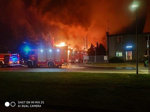Pożar w Turku /Słuchacz Daniel /Gorąca Linia RMF FM