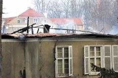 Pożar w uzdrowisku w Szczawnie-Zdroju