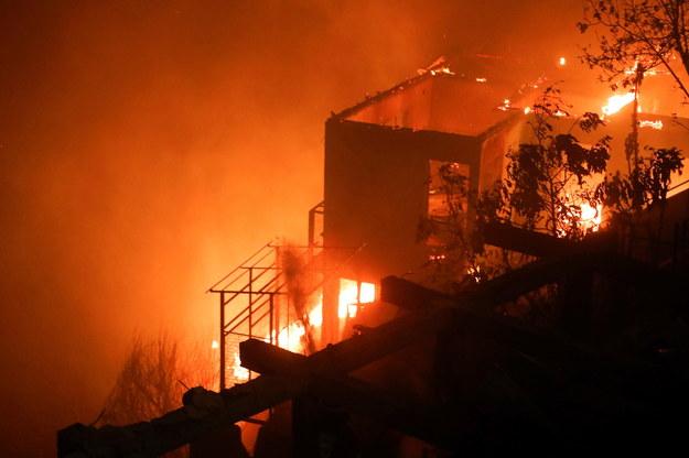 Pożar w Valparaiso /LEANDRO TORCHIO /PAP/EPA