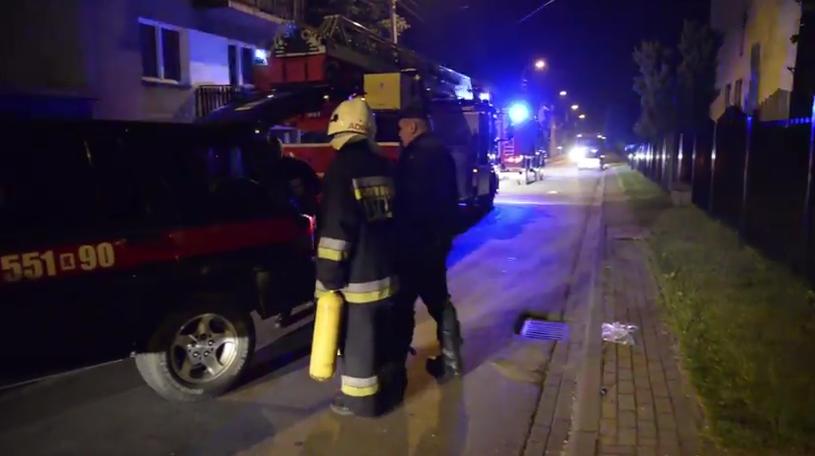 Pożar w Wadowicach /YouTube