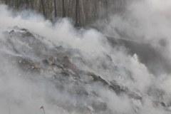 Pożar w Wałbrzychu. Prawdopodobnie ktoś podpalił składowisko odpadów