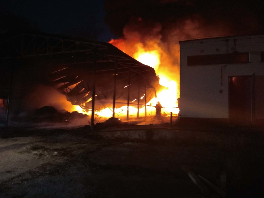 Pożar w Wołominie /Gorąca Linia RMF FM /
