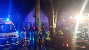 Pożar w zakładzie pielęgnacyjno-opiekuńczym w Siennicy. Nie żyją dwie osoby