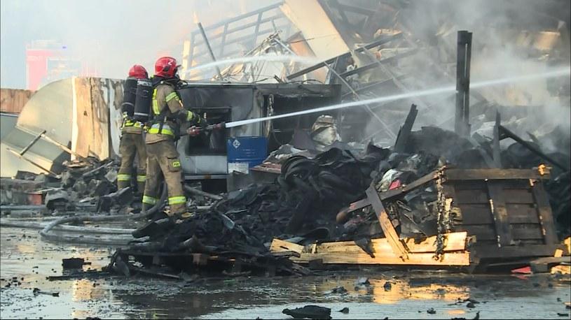 Pożar we Wrocławiu /Polsat News