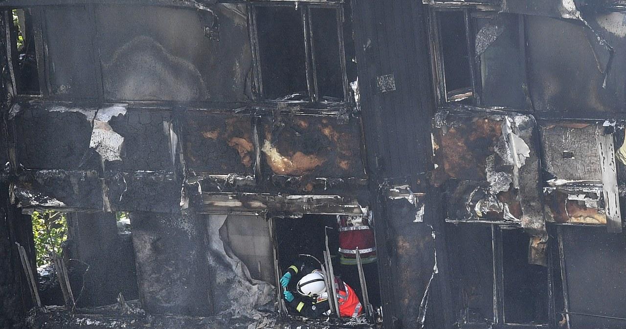 Pożar wieżowca w Londynie. Akcja ratunkowa służb