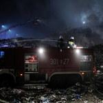 Pożar wysypiska w Studziankach opanowany
