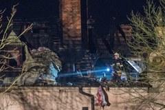 Pożar zamku w Kliczkowie
