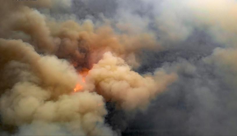 Pożar, zdj. ilustracyjne / STR   /AFP