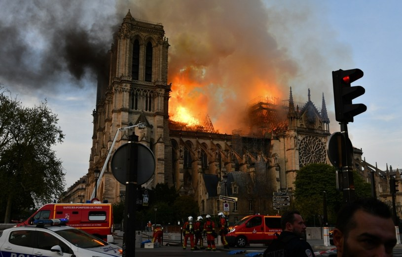 Pożar został już całkowicie ugaszony /Dominique Boutin/SPUTNIK Russia /East News