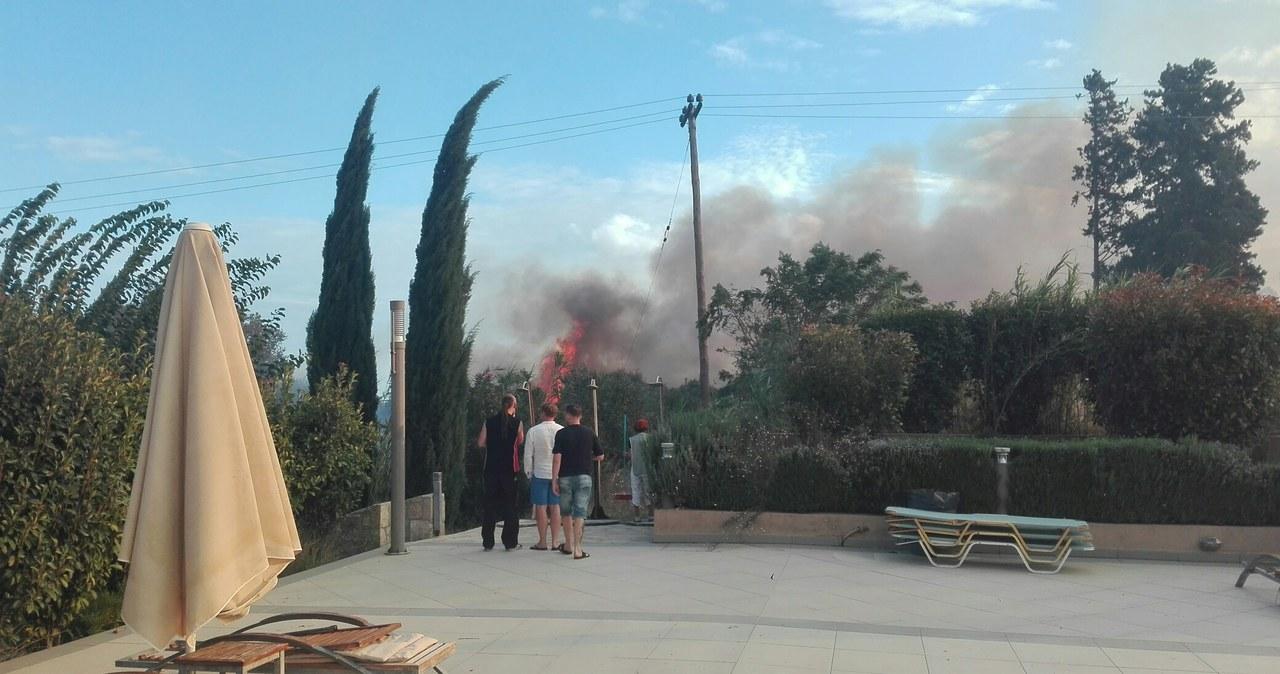 Pożary na Kefalonii. Ewakuowano turystów