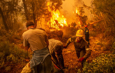 Pożary na południu Europy. Nadzieja na chwilę wytchnienia
