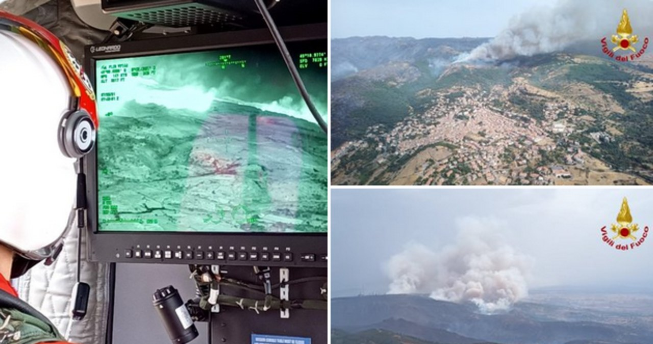 Pożary na Sardynii. Włosi proszą o pomoc