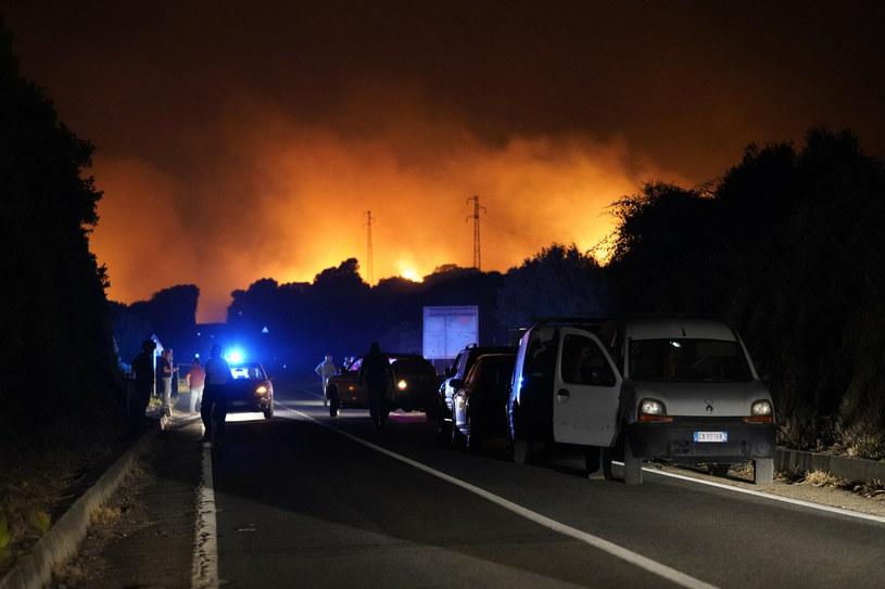 Pożary na Sardynii /LaPresse/Associated Press /East News