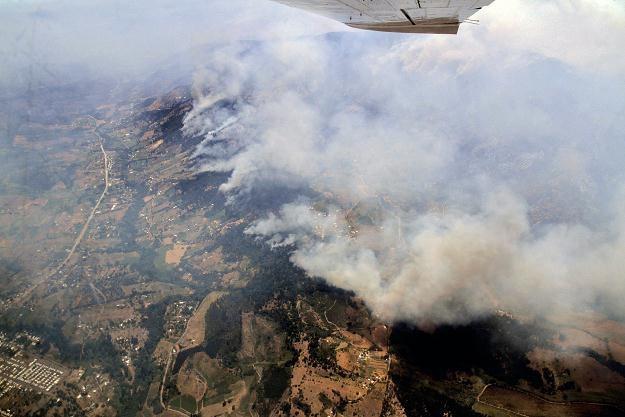 Pożary szaleją na południu i w środkowej części Chile /AFP