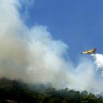 Pożary trawią greckie wyspy
