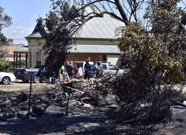 Pożary trwają już od listopada/ Adelaide, 26.11.2015 /SAEED KHAN /AFP
