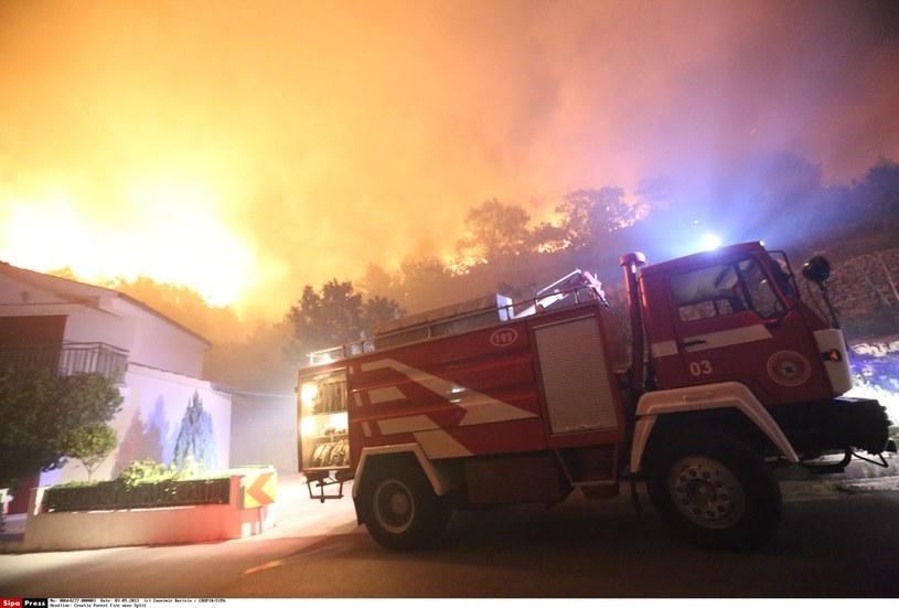 Pożary w Chorwacji, zdj. ilustracyjne / Zvonimir Barisin / CROPIX/SIPA /East News