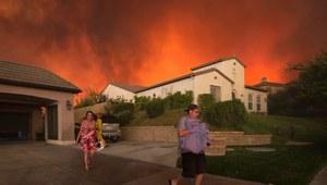 Pożary w Kalifornii. Ewakuowano tysiące osób