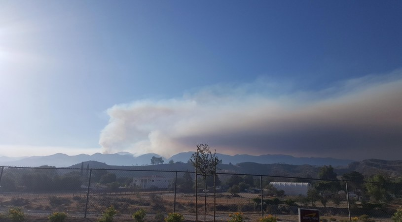 Pożary w Kalifornii /PAP/EPA