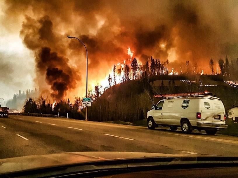 Pożary w Kanadzie /PAP/EPA