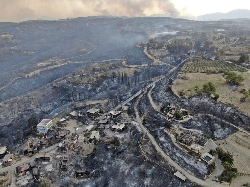 Pożary w okolicy Manavgat w Turcji /IHA/Associated Press/East News /East News